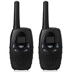 1 watt hosszú hatótávolságú fekete 2pcs walkie-talkie rádiós szkenner frs gmrs 2 utas cb rádiók uhf ptt vox adó pmr gyerekeknek