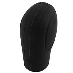 Недорогие Чехлы для сидений и аксессуары для транспортных средств-Черная мягкая силиконовая нескользящая ручка автомобиля с ручкой редукторная крышка