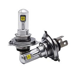 Недорогие Автомобильные фары-BA15S / H8 / 9006 Автомобиль Лампы 40W Высокомощный LED 4000lm Светодиодные лампы Налобный фонарь