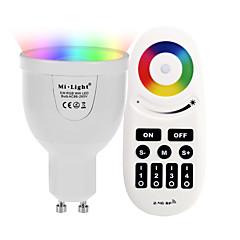 abordables Ampoules LED-5W 500 lm GU10 Ampoules LED Intelligentes A60(A19) 12 diodes électroluminescentes SMD 5730 WiFi Capteur infrarouge Intensité Réglable