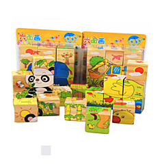 3D Puzzles Educational Toy Jigsaw Puzzle Toys Cat Animals Animals Not Specified Children's Pieces