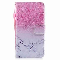 Недорогие Кейсы для iPhone 5-Чехол для iphone 7 7 плюс держатель карты кошелек флип мраморный рисунок полный корпус чехол жесткая кожа pu для iphone 6 6s 6 плюс 6s