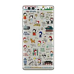Недорогие Чехлы и кейсы для Huawei Mate-Чехол для huawei p8 lite2017 p10 крышка прозрачный корпус мультяшный мягкий tpu для p10 lite p10 plus p9 plus p9 lite p9 p8 lite p8 mate9
