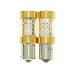 baratos -Sencart 2pcs bau15s 1056 py21w lâmpada piscante led carro cauda volta lâmpadas de luz de luz reversa (branco / vermelho / azul / branco