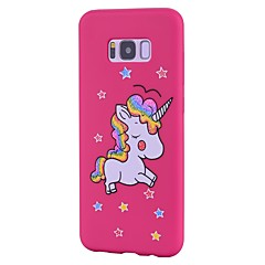 Case For Samsung Galaxy S8 Plus S8 Frosted Pattern Back Cover Unicorn Glitter Shine Soft TPU for S8 S8 Plus S7 edge S7 S6 edge S6