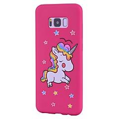hoesje Voor Samsung Galaxy S8 Plus S8 Mat Patroon Achterkantje Eenhoorn Glitterglans Zacht TPU voor S8 S8 Plus S7 edge S7 S6 edge S6