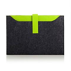 """preiswerte Laptop Taschen-Wollfilz Einfarbig Ärmel Universell / 14 """"Laptop"""