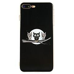 Назначение iPhone X iPhone 8 Чехлы панели С узором Задняя крышка Кейс для Сова Мягкий Термопластик для Apple iPhone X iPhone 8 Plus