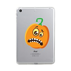 Til iPad (2017) Etuier Transparent Mønster Bagcover Etui Transparent Halloween Blødt TPU for Apple iPad (2017) iPad Pro 12.9'' iPad Pro