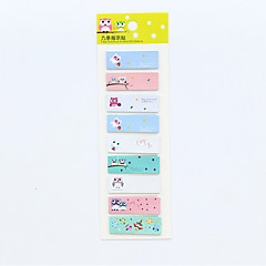 1 PC Owl Series Self-Stick Note Set(Random Color) For School / Office