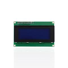 お買い得  ディスプレー-keyestudio i2c lcd 20x4 2004 lcdディスプレイモジュールuno r3 mega 2560 r3白い文字の青いバックライト