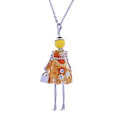 preiswerte Halsketten-Damen Lang Anhängerketten - Spitze Prinzessin Böhmische, Boho Purpur, Gelb, Rosa Modische Halsketten Schmuck Für Bühne, Klub