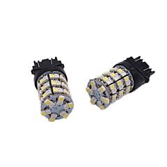 2x luminosidade alta e alta 24w 1157 3157 7743 luz de freio de cabeça dupla de diodo emissor de luz luz giratória multifuncional