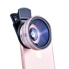 lentes de la cámara del smartphone de shexielong lente de gran angular 0.45x lente macro 12x para el ipad iphone huawei xiaomi samsung