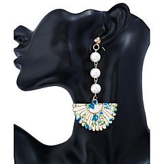 Γυναικεία Κρεμαστά Σκουλαρίκια Υπερμεγέθη Ξύλο Κράμα Taper Shape Κοσμήματα Για Καθημερινά Causal