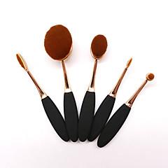 5 stuks Brush Sets Synthetisch haar