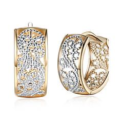 Γυναικεία Κρεμαστά Σκουλαρίκια Cubic Zirconia Βασικό Μοντέρνα Ζιρκονίτης Με Επίστρωση Ροζ Χρυσού Circle Shape Κοσμήματα Για Πάρτι Δουλειά