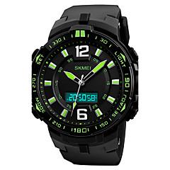 preiswerte Digitaluhren-SKMEI Herrn Quartz Armbanduhr / Militäruhr / Sportuhr Japanisch Alarm / Kalender / Chronograph / Wasserdicht / Großes Ziffernblatt / Cool