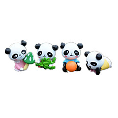 abordables muñecas-Figuras de Acción y Peluches Muñecas Juguetes Pato Oso Animal Oso Panda Bonito Manualidades Plásticos No Especificado Piezas