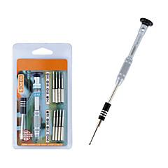 tournevis magnétique de précision set bits destornillador tournevis screwdriver pour iphone 7 6 5 5s kit de réparation de téléphone