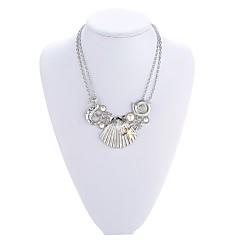 Жен. Ожерелья с подвесками Жемчужные ожерелья Искусственный жемчуг В форме животных Бижутерия Искусственный жемчуг Сплав Базовый дизайн