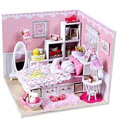 Music Box Zabawki DIY Dom Architektura Żywica Romantyczna Sztuk Dla obu płci Urodziny Prezent