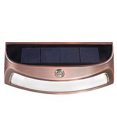 ds-3688 napkollektoros kültéri vízálló led fali lámpa fényszabályozó szenzor fények