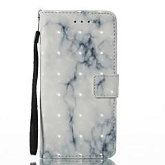 Назначение iPhone X iPhone 8 Чехлы панели Кошелек Бумажник для карт со стендом Флип С узором Магнитный Чехол Кейс для Мрамор Твердый