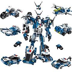 ieftine -ENLIGHTEN Robot Lego Avion Luptător Jucarii Robot Militar Reparații Clasic Model nou Adulți Băieți 577 Bucăți