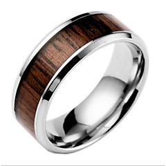 Erkek Kadın's Evlilik Yüzükleri Moda Titanyum Çelik Mücevher Mücevher Uyumluluk Günlük
