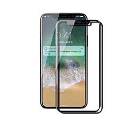 Недорогие Защитные пленки для iPhone X-Защитная плёнка для экрана Apple для iPhone X Закаленное стекло 1 ед. Защитная пленка для экрана Против отпечатков пальцев Уровень защиты
