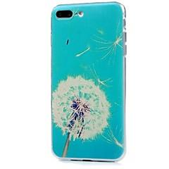Назначение iPhone X iPhone 8 Чехлы панели Ультратонкий С узором Задняя крышка Кейс для одуванчик Мягкий Термопластик для Apple iPhone X