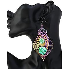 preiswerte Ohrringe-Damen Tropfen-Ohrringe - Mehrfarbig, überdimensional Regenbogen Für Alltag / Ausgehen