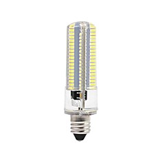 お買い得  LED 電球-BRELONG® 1個 8W 700lm LEDコーン型電球 152 LEDビーズ SMD 3014 調光可能 温白色 ホワイト 220V 110V