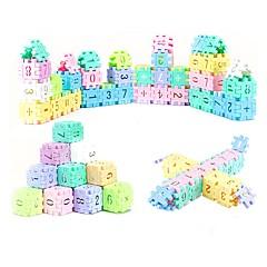 Χαμηλού Κόστους -Εκπαιδευτικές κάρτες Τουβλάκια Μαθηματικά παιχνίδια Παιχνίδια Φτιάξτο Μόνος Σου Ορθογώνιο ABS Κομμάτια Παιδικά Γιούνισεξ Δώρο