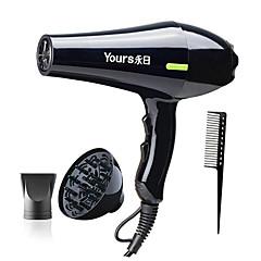 billige Hårtørrer-yr-6217yy elektrisk hårtørrer styling værktøjer lavt støj hår salon varmt / koldt vind