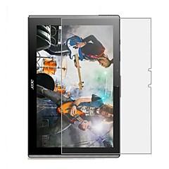 Vidrio Templado Protector de pantalla para ACER Tablet Other Protector de Pantalla Frontal Dureza 9H