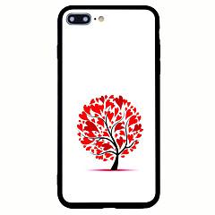 Назначение iPhone 7 iPhone 7 Plus Чехлы панели Матовое С узором Задняя крышка Кейс для дерево Твердый Акриловое волокно для Apple iPhone