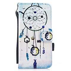 Назначение iPhone 7 iPhone 7 Plus Чехлы панели Кошелек Бумажник для карт со стендом Флип С узором Магнитный Чехол Кейс для Ловец снов