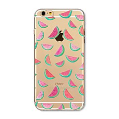 Назначение iPhone X iPhone 8 Чехлы панели С узором Задняя крышка Кейс для Фрукты Мягкий Термопластик для Apple iPhone X iPhone 8 Plus