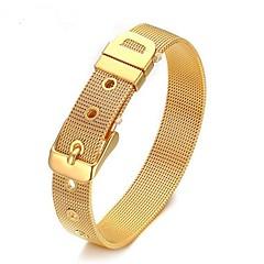 Heren Armbanden met ketting en sluiting Sieraden Eenvoudige Stijl Legering Geometrische vorm Sieraden Voor Dagelijks