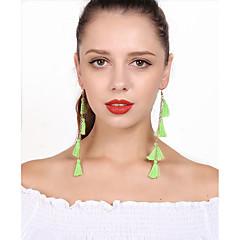 preiswerte Ohrringe-Damen Tropfen-Ohrringe Kreolen Böhmische Mehrlagig Baumwolle Aleación Schmuck Alltag
