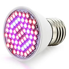 cheap LED Bulbs-1500-1800lm E27 Growing Light Bulb 60 LED Beads SMD 3528 Blue Red 85-265V