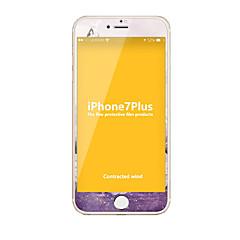 Недорогие Защитные пленки для iPhone 7 Plus-Закаленное стекло Защитная плёнка для экрана для Apple iPhone 7 Plus Защитная пленка на всё устройство HD Уровень защиты 9H