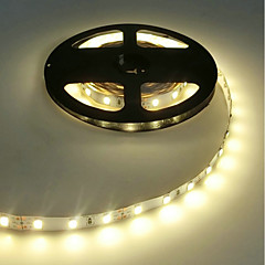 led strip 5630 flexibel led licht 60 led / m 5m warm wit / wit / koud wit ip20 geen waterdicht dc12v