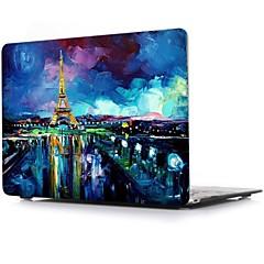 """voordelige MacBook-accessoires-MacBook Hoes voor MacBook Air 13"""" MacBook Air 11"""" MacBook Pro 13'' met Retina-scherm Uitzicht op de stad TPU Materiaal"""