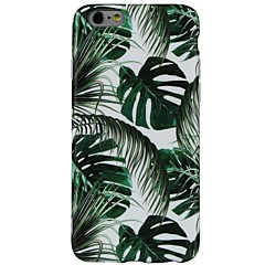 billige iPhone 5c-etuier-Etui Til Apple iPhone X iPhone 8 Mønster Bagcover Træ Blødt TPU for iPhone 8 Plus iPhone 8 iPhone SE/5s