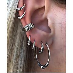 voordelige Oorbellen-Dames Clip oorbellen Vintage Legering Cirkelvorm Sieraden Voor Dagelijks
