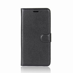 cheap Cases / Covers for HTC-Case For HTC U11 / One X10 Wallet / Card Holder / with Stand Full Body Cases Solid Colored Hard PU Leather for HTC U11 plus / HTC U11 Life / HTC U11