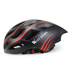 tanie -West biking Kask Kask rowerowy CE Kolarstwo 17 Otwory wentylacyjne Trwały Lekki Kolarstwo Rower